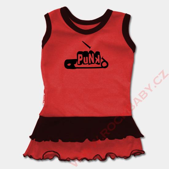 0f0d1040f6cd Dětské šaty - Punk špendlík