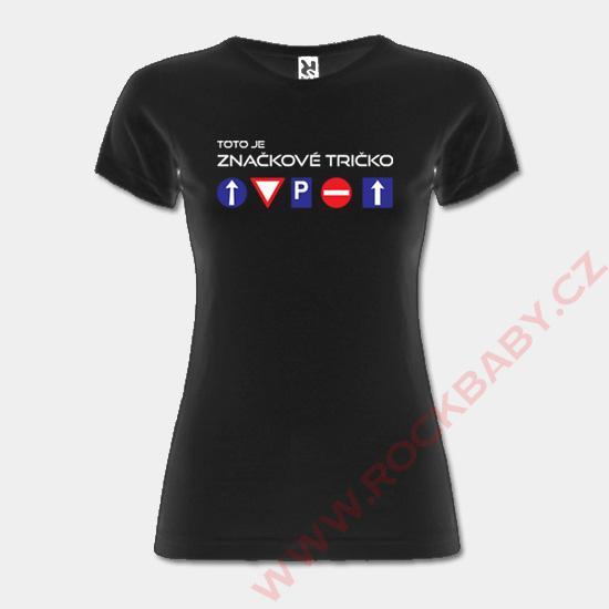 b234f020393a Dámske tričko - Značkové tričko ...