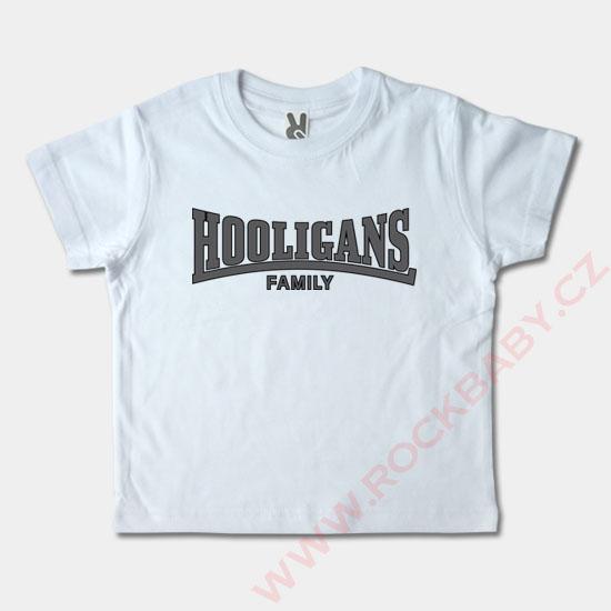 6fc2a990e8d7 Detské tričko krátky rukáv - Hooligans Family ...