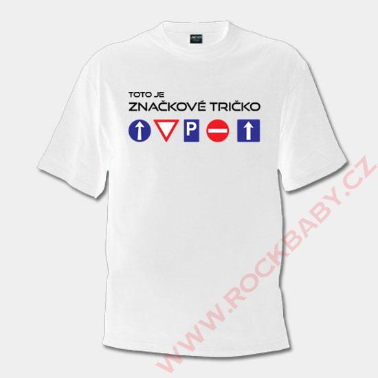 eabc477302f6 Pánske tričko - Značkové tričko ...