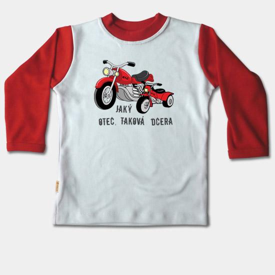 3f092e8c24b1 Detské tričko dlhý rukáv -Jaký otec